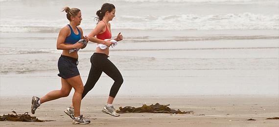 Gå ner i vikt genom löpning